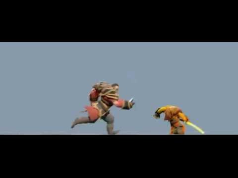Lucan Vs Yurnero Epic Battle | WorkArt Dota 2