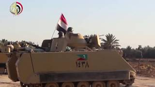 القوات المسلحة تداهم جيوب الإرهاب بقطاعى رفح والشيخ زويد بشمال سيناء