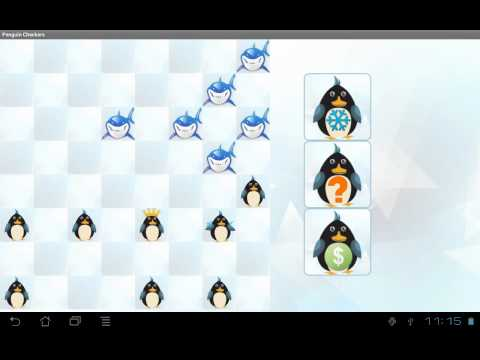 Video of Penguin Checkers