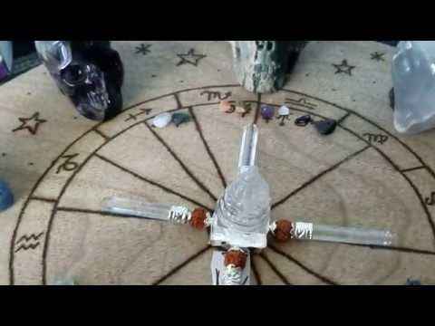 Crystal Grid Healing using your Natal Chart
