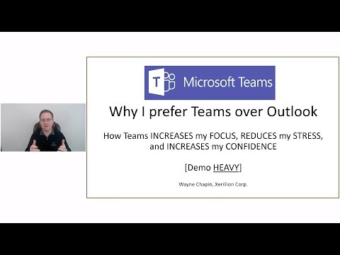 Microsoft Teams [Demo Heavy] - Why I Prefer Teams Over Outlook