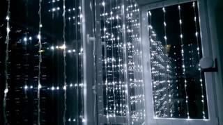 """Гирлянда """"Водопад"""" / """"Штора"""" для украшения фасадов и интерьеров"""