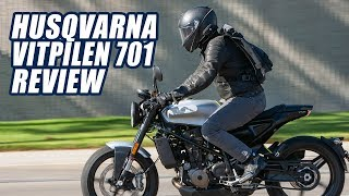 7. 2018 Husqvarna Vitpilen 701 Review