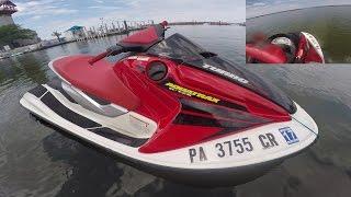 4. Honda R-12X Turbo Jetski, Erie Joyride rip - 165 Horsepower!