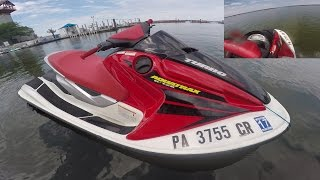 4. Honda R-12X Turbo Jetski, POV Erie Joyride rip - 165 Horsepower!