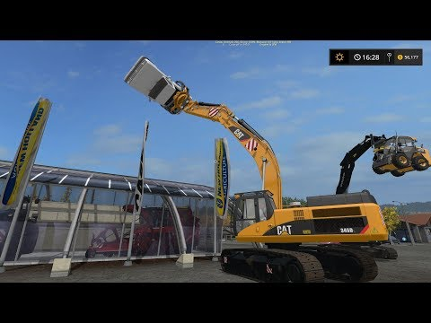 CAT 345D Grapple v1.0