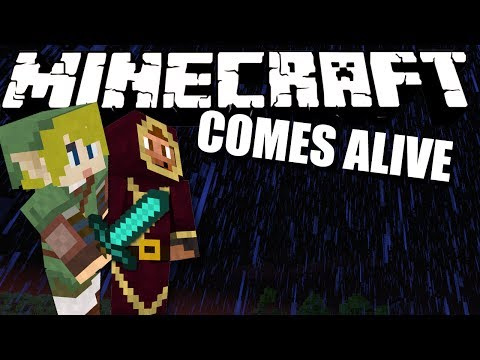 NATURE IS SCARY... Minecraft Comes Alive #17