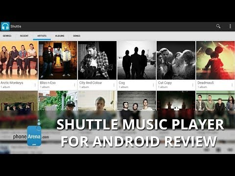 Video of Shuttle+ Music Player