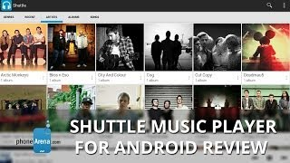 Shuttle Music Player YouTube video