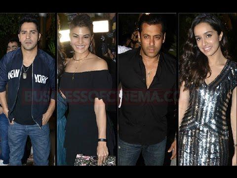 Salman Khan, Jacqueline Fernandez, Sonam Kapoor An