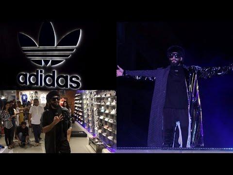 Ranveer Singh Launhed Adidas Originals New Store