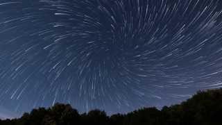Vortex spiral  Star Trails Time lapse