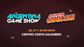 Argentina Game Show en #ArgComicCon