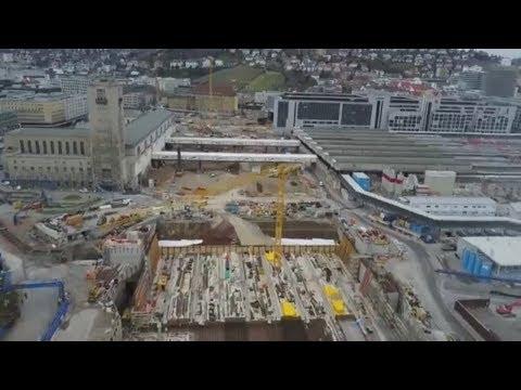 Bahnhof: Stuttgart 21 könnte mehr als acht Milliard ...