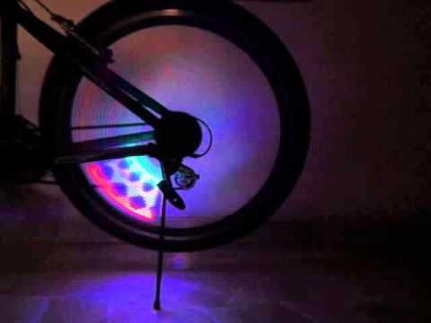 PriceXtreme - Bicycle LED Wheel Spoke Light 16 LED 32 Patterns