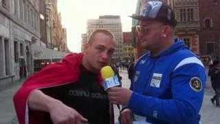 Janek z Wrocławia trzy zdania o emigrantach