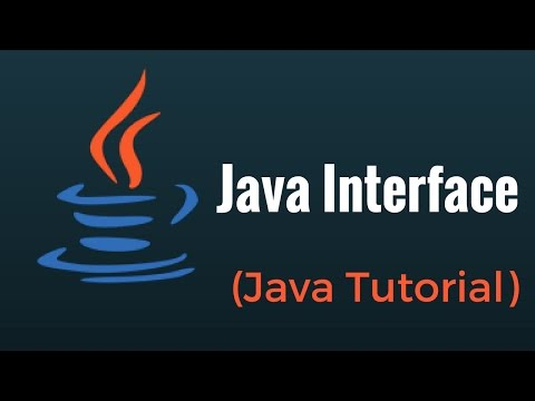 Java Interface - Java Programming Tutorial