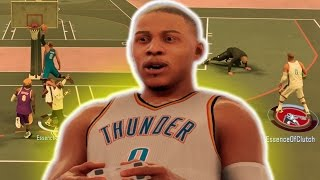 RUSSELL WESTBROOK BEST DUNKS + ANKLE BREAKERS! TRIPLE DOUBLE MACHINE NBA 2K17