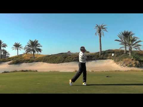 Golf tips: weight shift lesson