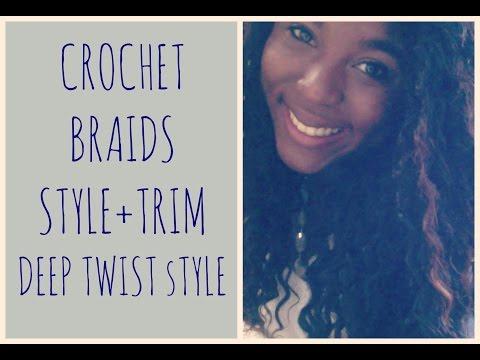Deep Twist Crochet Braids