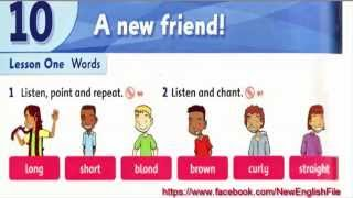 Download Lagu Unit 10 A New Friends Lesson 1 | Family and Friends 1 Mp3
