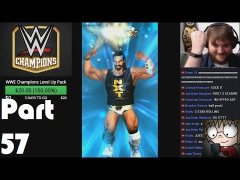 *EVOLVING NXT SETH ROLLINS TO 3 STAR!* WWE Champions - Part 57   Mike at Midnight LIVE
