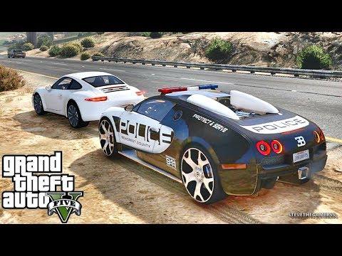 GTA 5 MODS LSPDFR 763 - SUPERCAR PATROL !!! (GTA 5 REAL LIFE PC MOD) (видео)