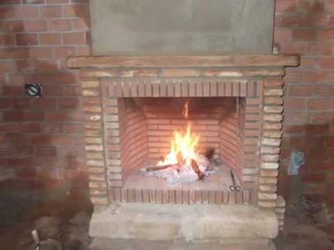 Como hacer una chimenea rústica de ladrillos