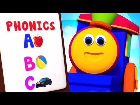 ABC Phonics Song | Preschool Learning Videos For Kids - Bob The Train Cartoons