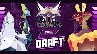 MY TEAM IS POWER! WBE Minnesota Vikavolts Full Draft Breakdown! by aDrive