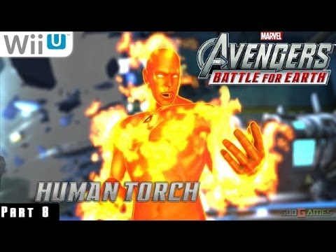 marvel avengers battle for earth wii u walkthrough
