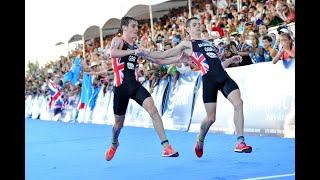 Final de película en el cierre de temporada durante el triatlón de Cozumel