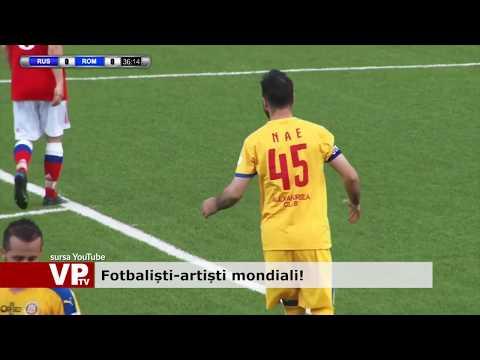 Fotbaliști-artiști mondiali!
