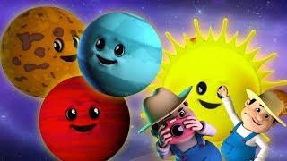 Planet Lagu   Lagu Tata Surya   Belajar video   Learn Planets Names   Baby Rhyme   Planets Song