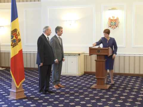 Moldovan environment minister takes oath as government member