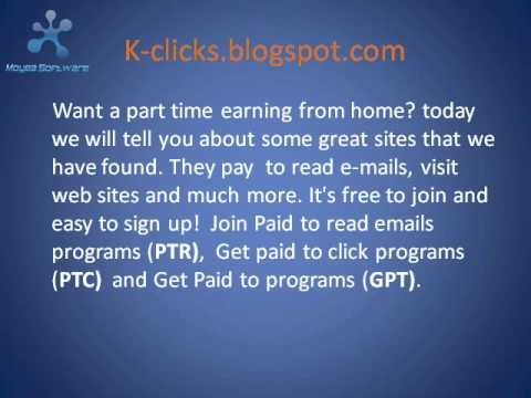 "Make Money Online with ""Paid to Click Sites"", get guidelines at ""k-clicks.blogspot.com"""