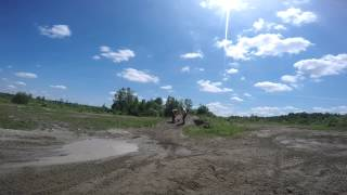 9. Honda Crf 450r 2008 and Can Am ds450 xmx 2011 (Jump and curve shoveling)