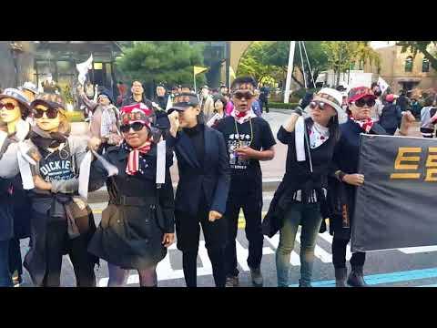 20차 대학로 태극기 집회 민심이 폭발하고 있습니다.