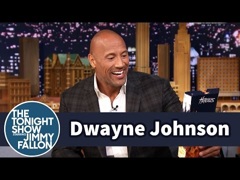 his - Jimmy and Dwayne chat about his movie Hercules, and Jimmy gives Dwayne a special edition action figure. Subscribe NOW to The Tonight Show Starring Jimmy Fallon: http://bit.ly/1nwT1aN Watch...