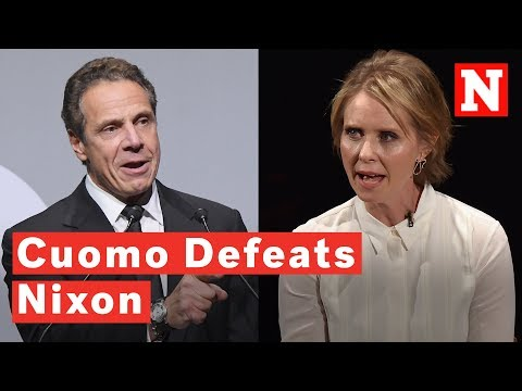 Andrew Cuomo Easily Defeats Cynthia Nixon In NY Governor Primary