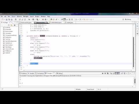 Java Tutorial 13 – Modulo