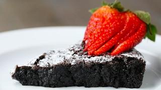 Swedish Sticky Chocolate Cake (Kladdkaka) by Tasty