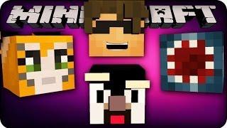 Minecraft Mods - YOUTUBER BLOCKS! -  Get YouTuber Powers! (Mod Showcase)