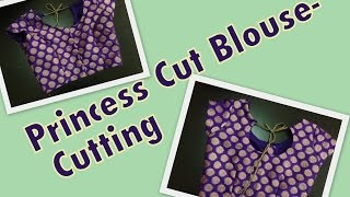 Princess Cut Blouse   Part 1   Cutting
