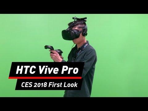 HTC Vive Pro ausprobiert: Scharfer erster Eindruck