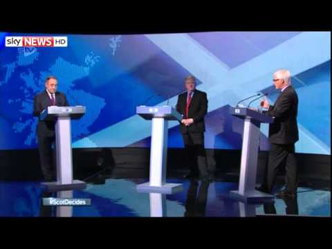 Salmond And Darling Clash In STV Debate | Highlights