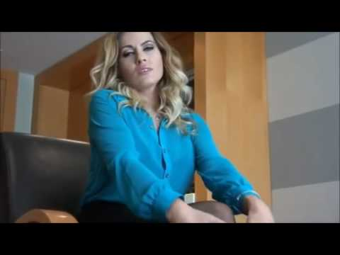 Video Sexy blonde secretary in mini skirt and pantyhose download in MP3, 3GP, MP4, WEBM, AVI, FLV January 2017