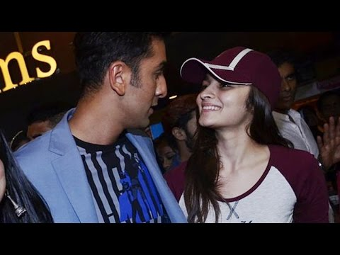 ranbir - Alia Bhatt, Ranbir Kapoor and Imtiaz Ali were all spotted at the inauguration of a short film festival in Mumbai. Alia and Ranbir were seen having some good ...