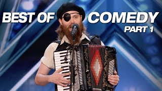 Video LOL! Some Of The Best Comedians Ever! - America's Got Talent 2018 MP3, 3GP, MP4, WEBM, AVI, FLV Januari 2019