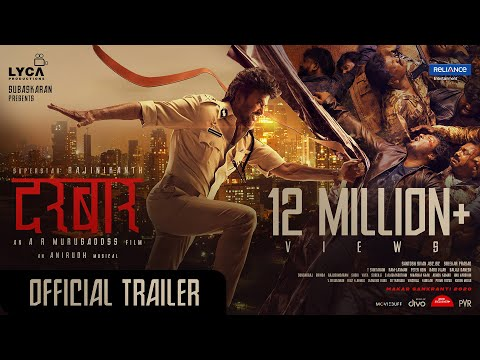 DARBAR (Hindi) - Official Trailer | Rajinikanth | A.R. Murugadoss | Anirudh | In Cinemas Now